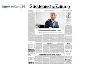 Angebot für Kostenloses Tageszeitungs-Abo bei tageszeitung24 im Supermarkt