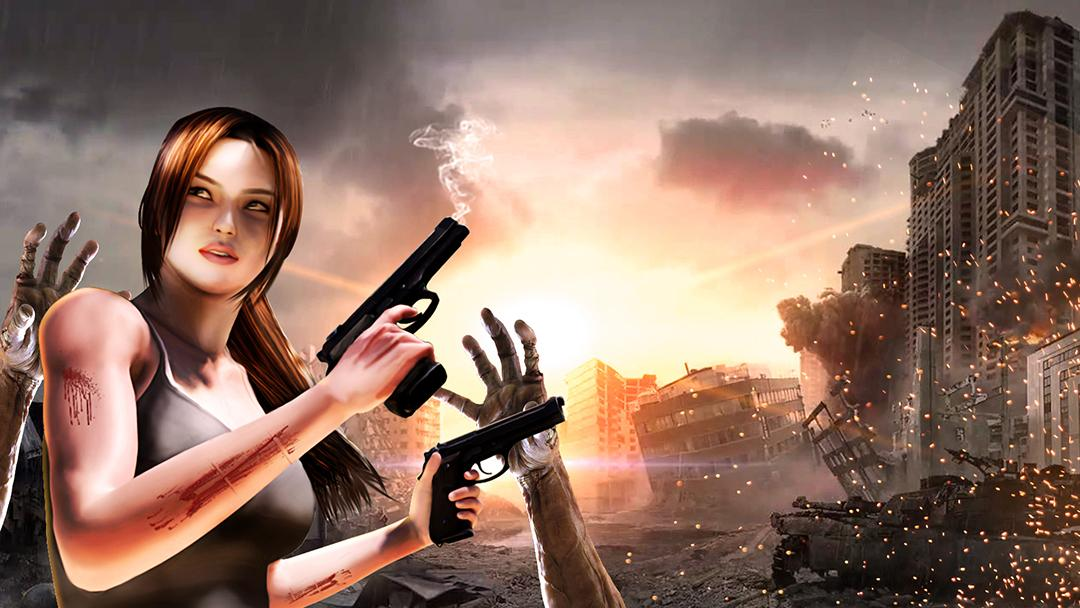 Zombie Hunter : Dead Zombie Shooter- screenshot