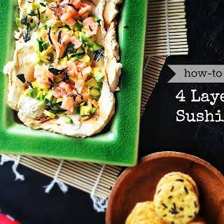 Four Layer Sushi Dip.