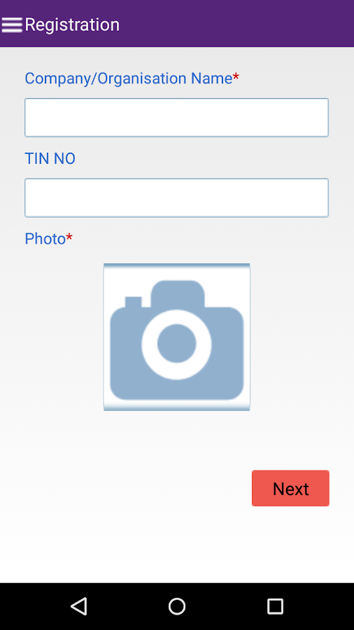 TSSM EMPLOYER REGISTRATION- screenshot