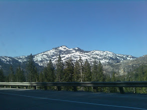 Photo: Almost there, Hwy 80 near Truckiee Calif