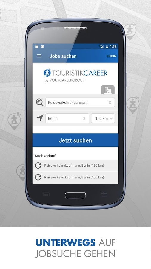 Touristik Jobs TOURISTIKCAREER- screenshot