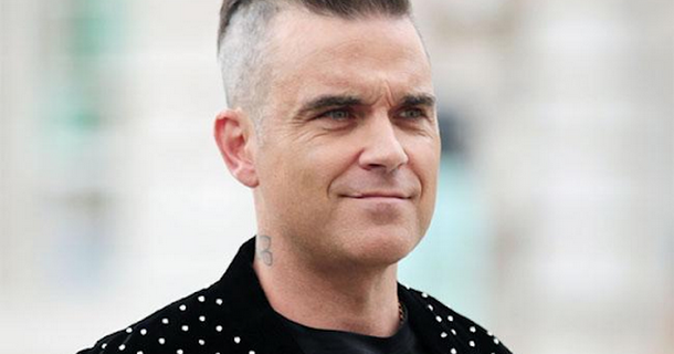 Robbie Williams has X Factor bet with Louis Tomlinson