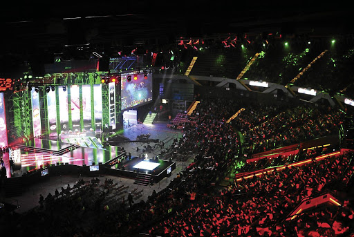 Popular pull: A 2017 gaming event in Poland drew 173,000 fans, while 60-million watched a League of Legends tournament in June, mostly via streaming. Picture: Getty Images/PressFocus/MB Media/Norbert Barczyk