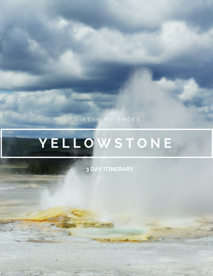 Yellowstone Itinerary