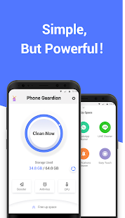 Phone Guardian Cleaner: Boost mobile &Save Battery Screenshot