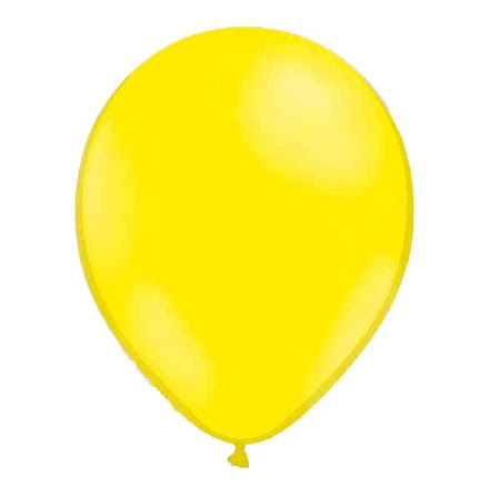 Ballonger - Ljusgula