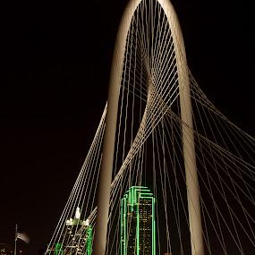 Margaret Hunt Hill Bridge, Dallas TX by Patricia Konyha - Buildings & Architecture Bridges & Suspended Structures
