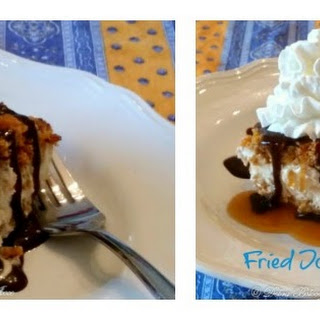 Mexican Fried Ice Cream Cake