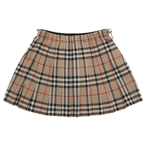 Thumbnail images of Burberry Pleated Check Skirt
