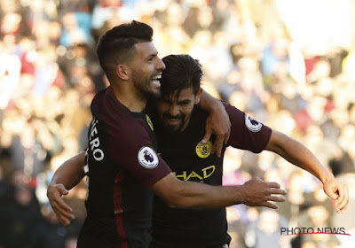 David Silva et Sergio Aguero forfaits pour le match de Man City face à Crystal Palace