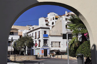Photo: Moraira, Costa Blanca (am Hafen)