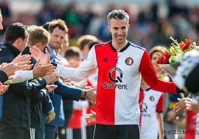 Robin van Persie maakt voor de tweede keer zijn comeback bij Feyenoord