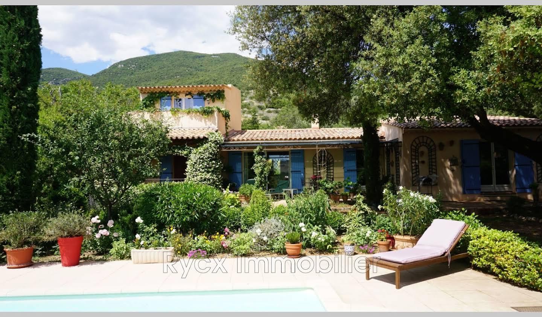 Villa avec piscine et terrasse Rustrel