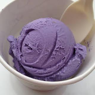 Ube (purple yam) Ice Cream.