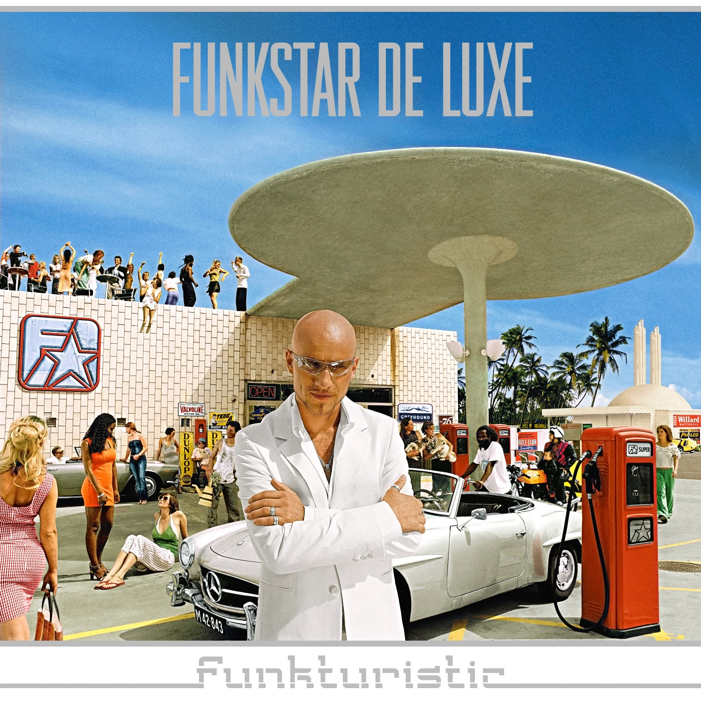 Album Artist: Funkstar De Luxe / Album Title: Funkturistic