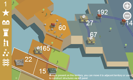 Territory wars screenshot