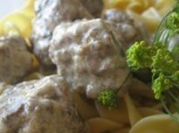 True Old Fashioned Swedish Meatballs Recipe