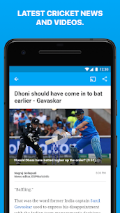 ESPNCricinfo – Live Cricket Scores, News & Videos  App Download For Android 4