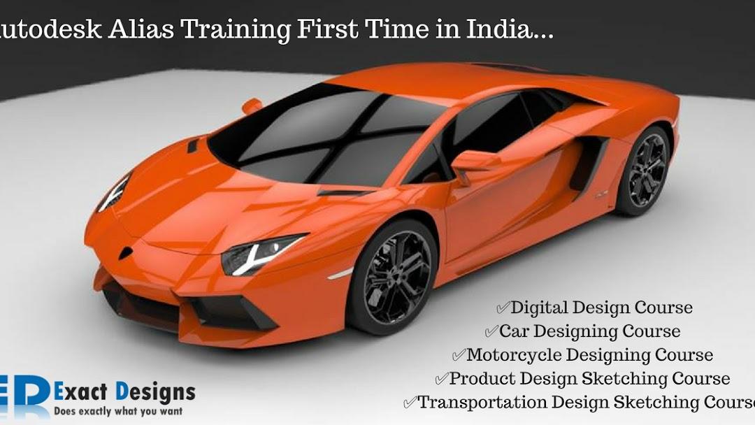 Autodesk Alias Modelling Course Pune Exact Designs Training Centre In Pune