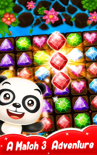 Panda Gems - Jewels Match 3 Games Puzzle filehippodl screenshot 1