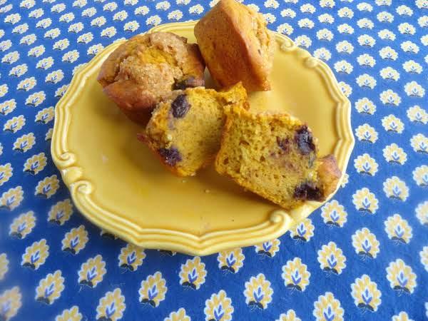 Blueberry Pumpkin Southern Comfort Muffins Recipe