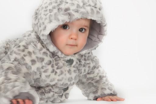 photographe bebe leopard en studio calvados caen bayeux rouen