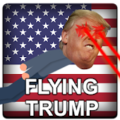 Flying Trump