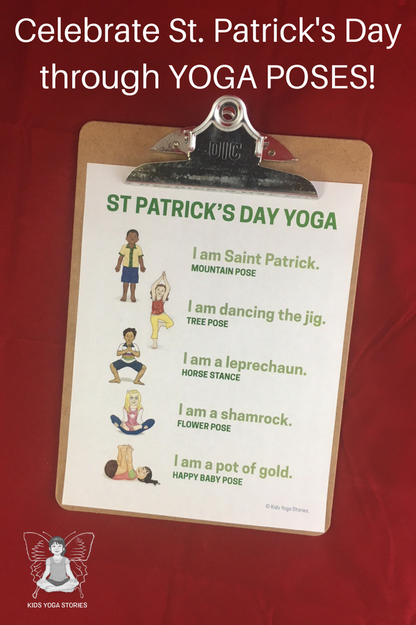 St Patrick S Day Yoga Kids Yoga Stories Yoga Stories