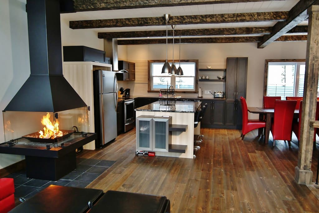 Cottages for rent for 10 people in Quebec #11