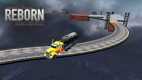 Transporter Reborn: Break the Rules Screenshot