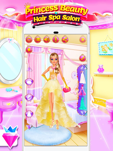 Princess Salon - Dress Up Makeup Game for Girls 1.0.5 screenshots 7