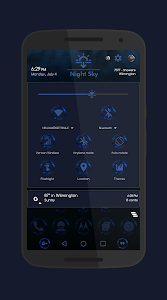 Night Sky - DU_CM12_CM13 Theme v1.0.3