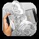 Silver Butterfly Glitter Diamond Theme Download on Windows