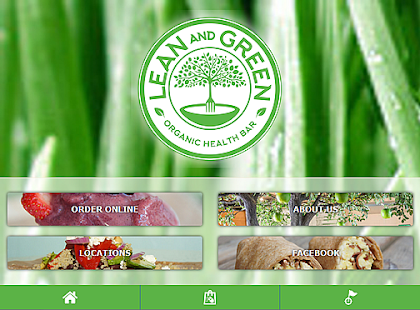 Lean and Green cafe- screenshot thumbnail