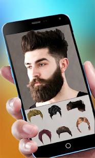 Cool Beard & Mustache Photo Editor-Man Hairstyles - náhled