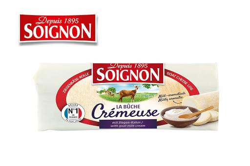 Bild für Cashback-Angebot: SOIGNON Ziegen-Weichkäse-Rolle mild-aromatisch
