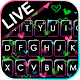 Shiny Neon Hearts Keyboard Theme Download on Windows