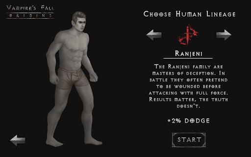 Vampire's Fall: Origins RPG  captures d'u00e9cran 2