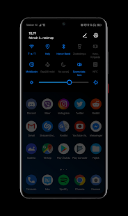 Download Black Pie Theme for EMUI 9 9 1 Huawei Honor 9 0 APK for