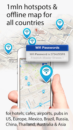 WiFi Map Pro - Passwords for free Wi-Fi. Good alternative for ... - Apple