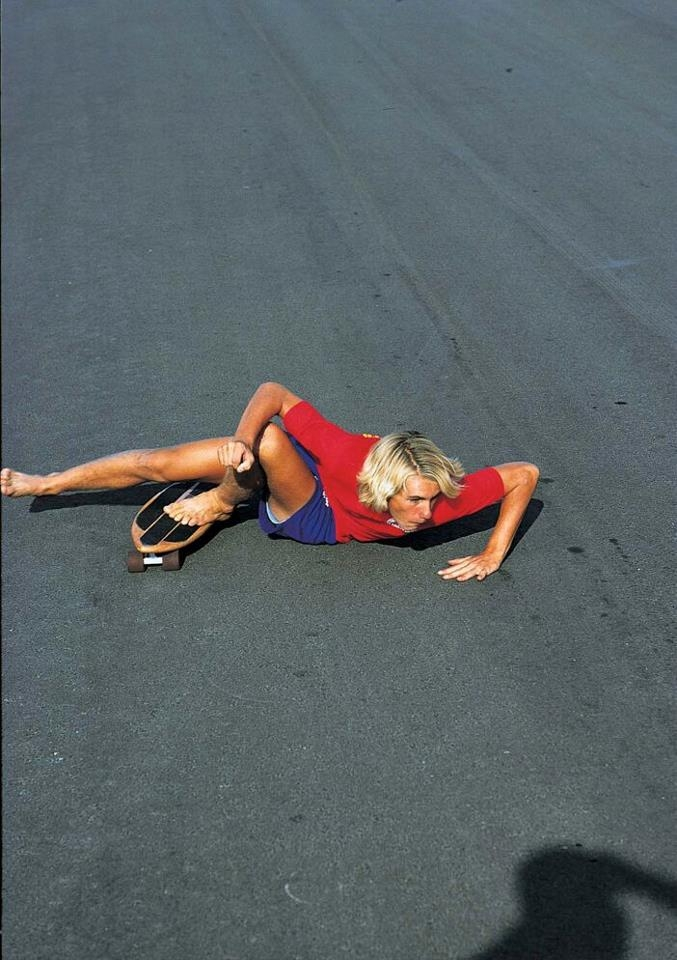 Photo: This shot shows you just how limber Jay was as a young skater!