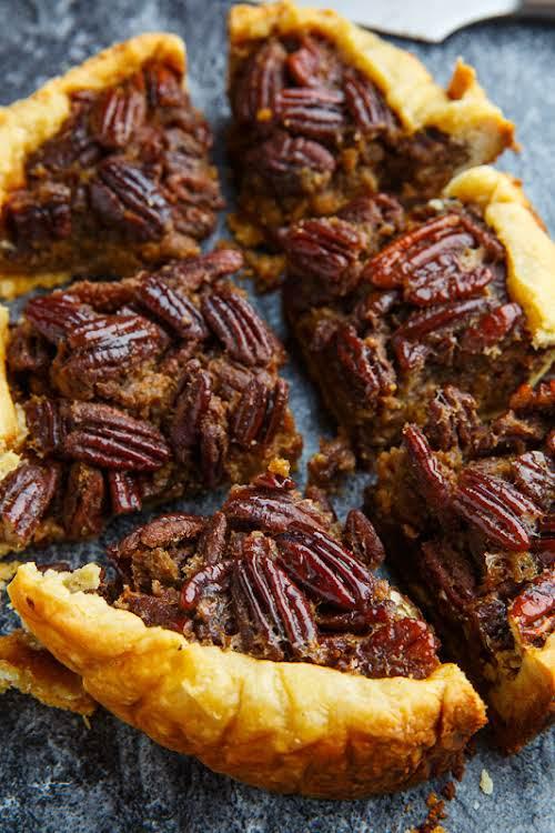 """Slow Cooker Pecan Pie""""The easiest pecan pie ever, in the slow cooker...."""