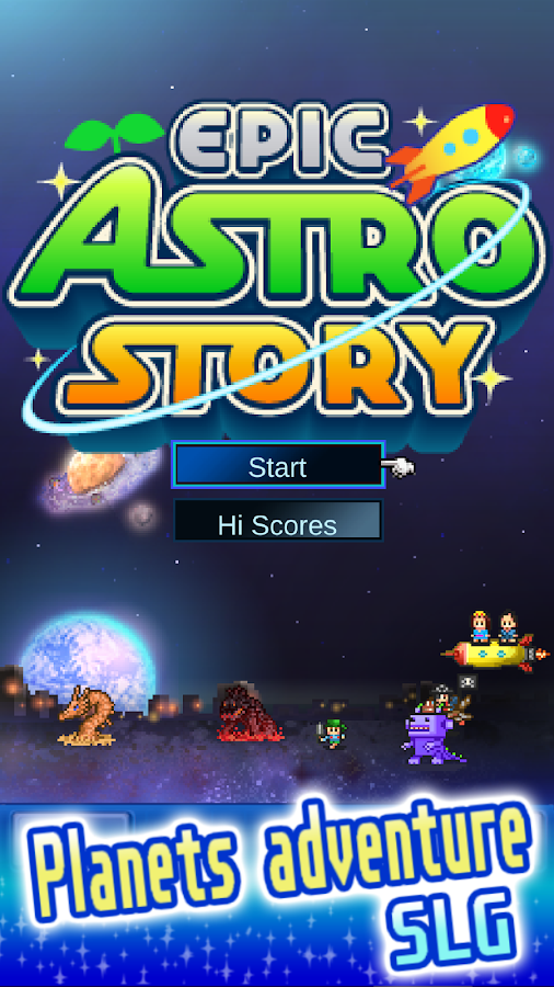 Epic Astro Story- screenshot