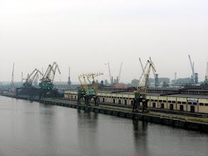 Photo: Przed konferencją przeszedłem się po Szczecinie. Widok na port.