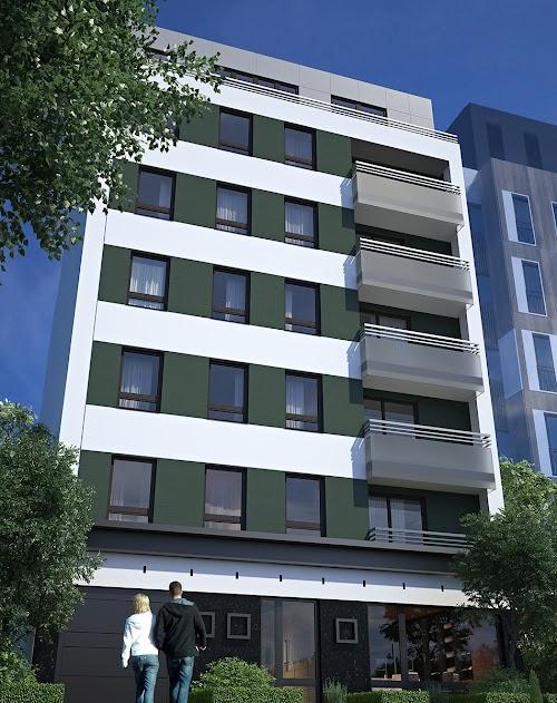 Vračar, nova LUX zgrada - 1.950 €/m2, troiposoban, 66 m2
