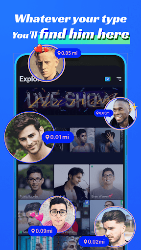 Blued - LIVE Gay Dating, Chat & Video Call to Guys 3.3.0 screenshots 5