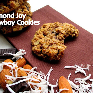 Almond Joy Cowboy Cookies