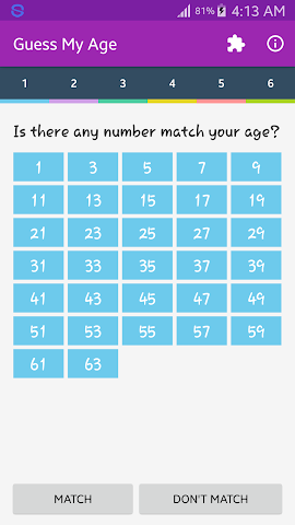 android Guess My Age Screenshot 1