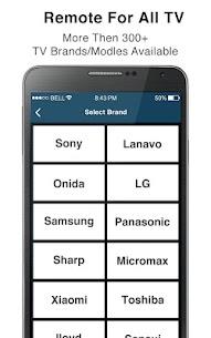 Remote Control for All TV Pro Mod Apk [Premium Features Unlocked] 8